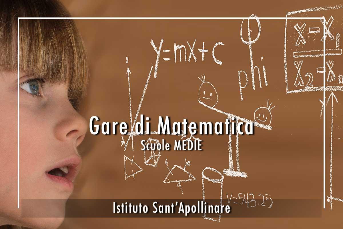 Gare-scuole-Medie Istituto Sant'Apollinare