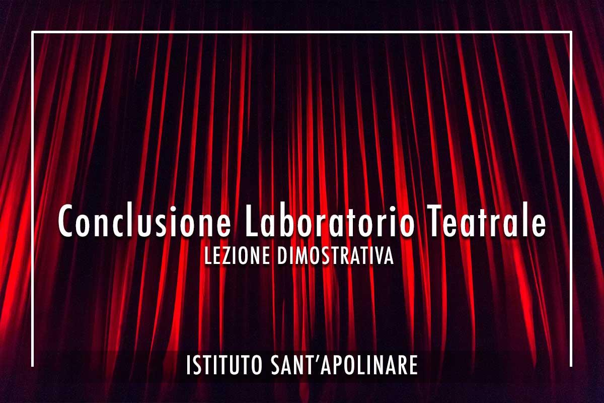 Conclusione Laboratorio-Teatrale