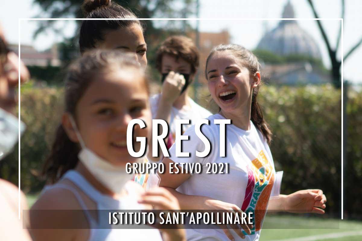 Grest 2021 gruppo estivo Sant'Apollinare