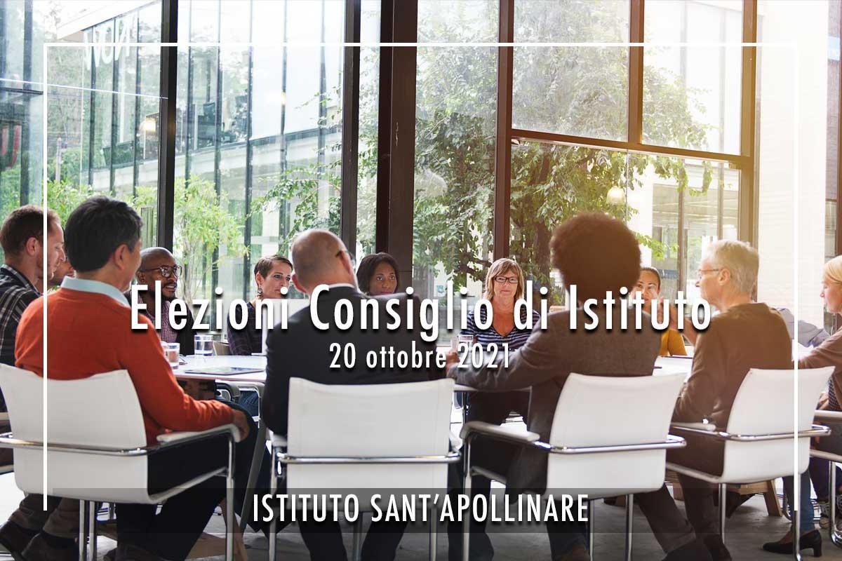 Elezioni Consiglio di Istituto Mercoledi 20 ottobre